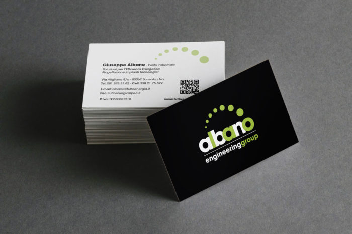 Albano group - business card