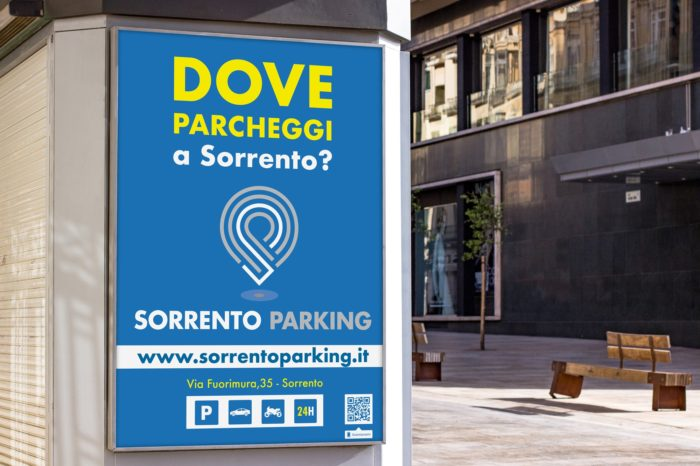 Sorrento Parking - manifesto stradale