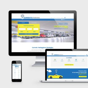 Sorrento Parking - sito web